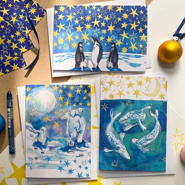 Christmas Cards Polly Crossman