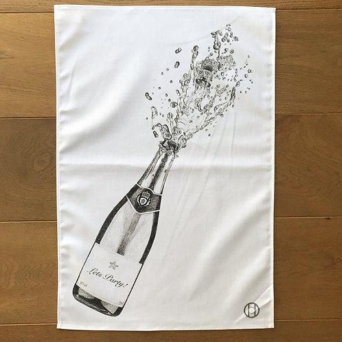 Tea Towel - Let's Party