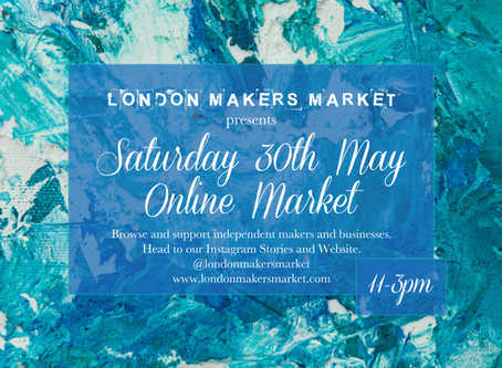 Saturday 30th May - LMM Online