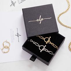 adjo Jewellery chain necklaces