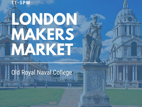 London Makers Market at the Old Royal Naval College, Greenwich