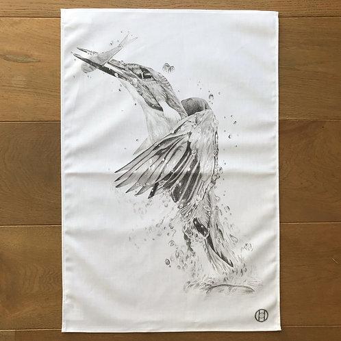 Tea Towel - Kingfisher