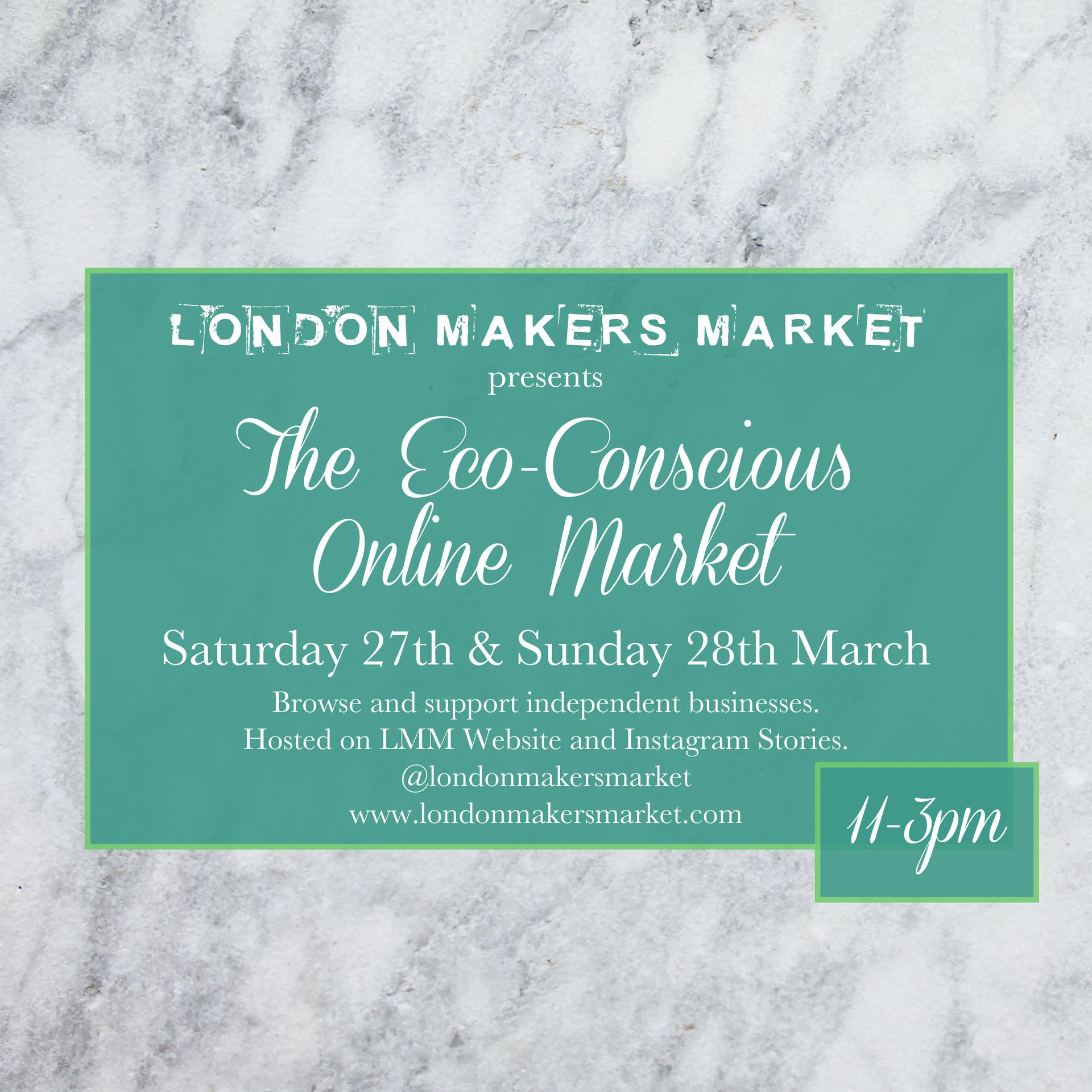 London Makers Market March Craft Fair