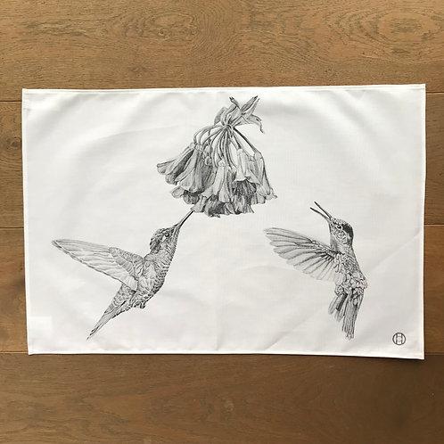 Tea Towel - Hummingbirds