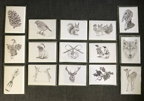 Seven Christmas Cards
