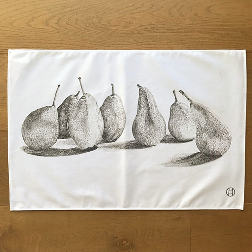 Tea Towel - Pears