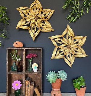 Christmas Stars. Art Star London. Origami Star Kit. Make your own Christmas decoration star.