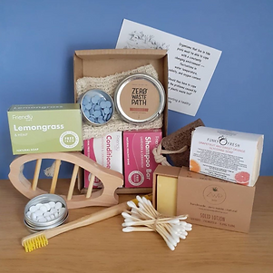 Discover Blue. Sustainable Bath Products. Natural Soap. Eco-friendly gifts.
