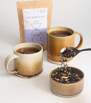 NUDITEA. Sustainable tea. Loose leaf tea.