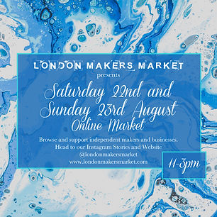 London Makers Market Online Craft Fair S