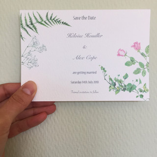 Heloise & Alex Save the Date