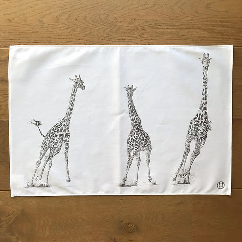 Tea Towel - Giraffes