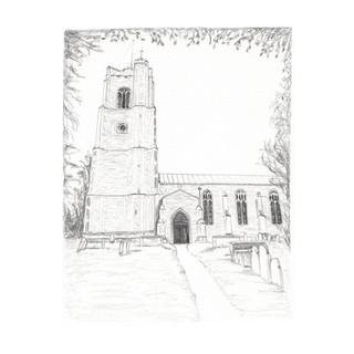 Hoxne Church
