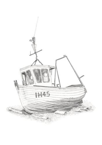 IH45 Aldeburgh Boat