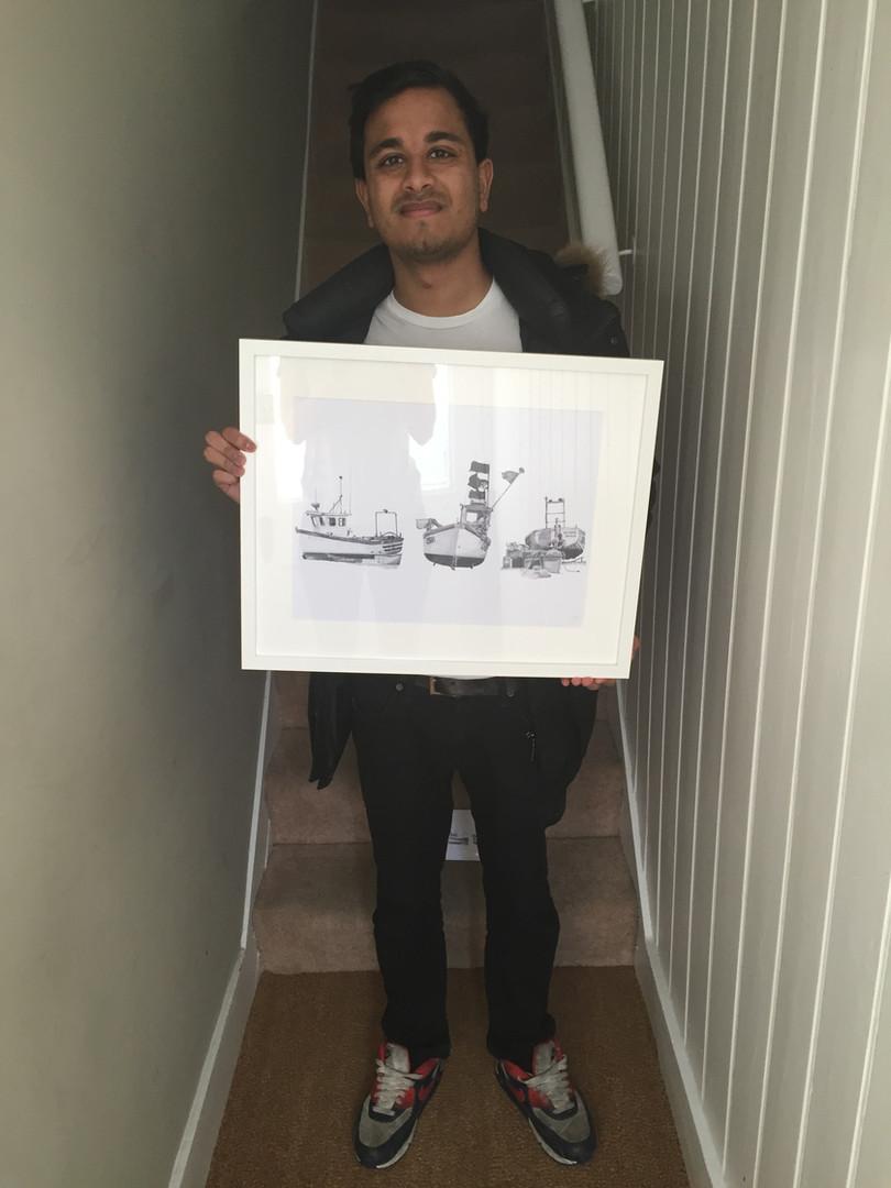 Three Boats Print