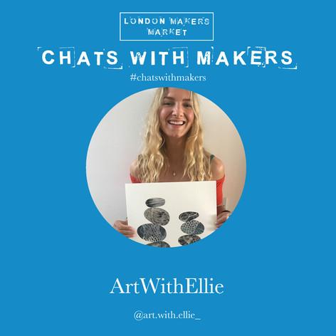 Art with Ellie Artist Interview