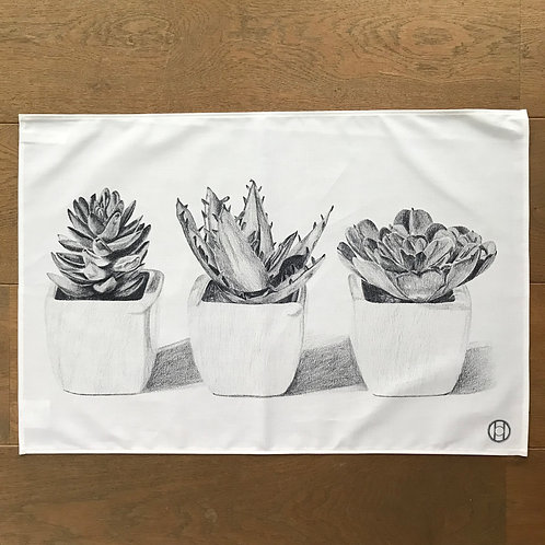 Tea Towel - Cacti