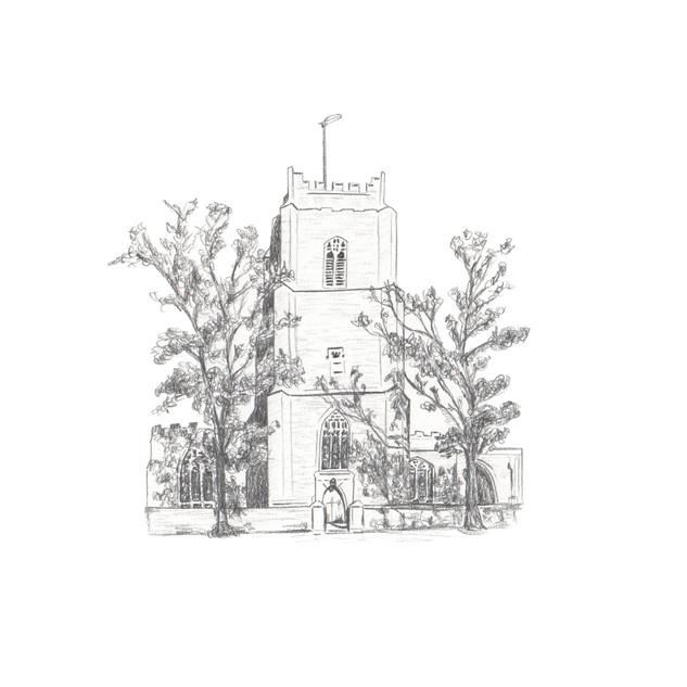 Aldeburgh Church Front