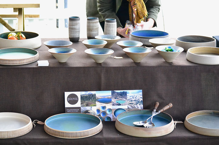 London Makers Market. London ceramicist Made by Picnic.