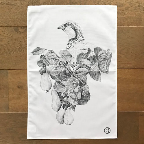 Tea Towel - Partridge