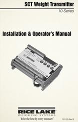 Set Weight Transmitter 10 Series - Installation & Operator's Manual