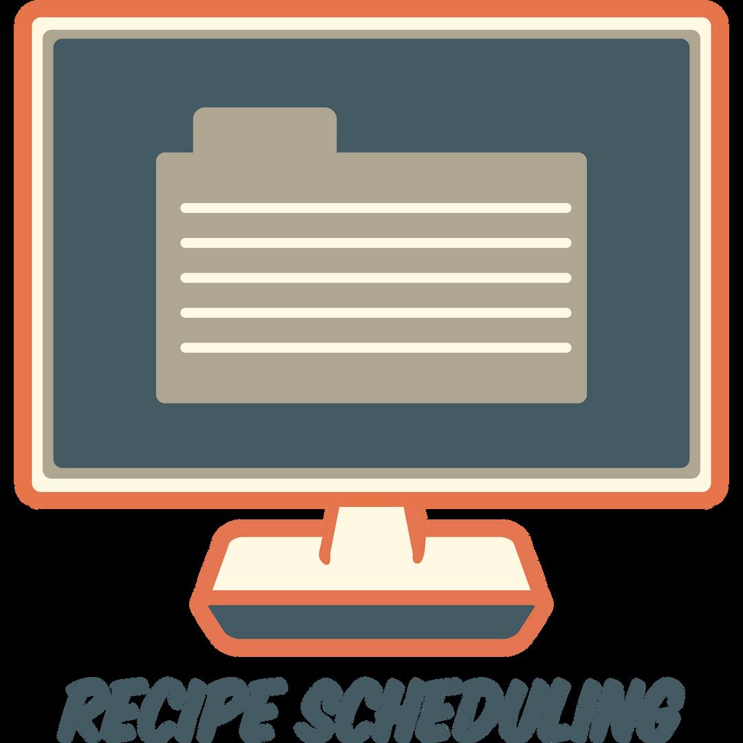 Recipe Scheduling