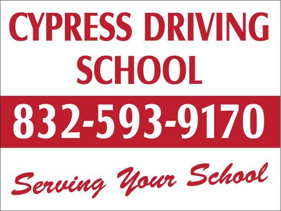 Cypress Driving School