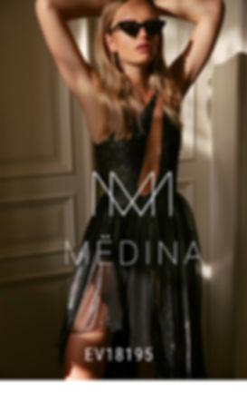 שמלת ערב טל מדינה EV18196