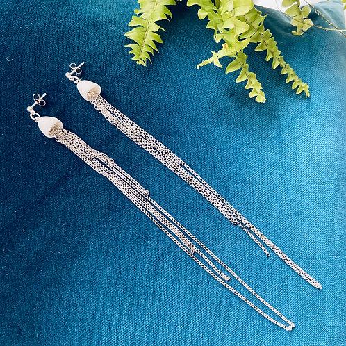 Campanula Waterfall Earrings