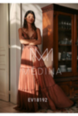 שמלת ערב טל מדינה EV18192