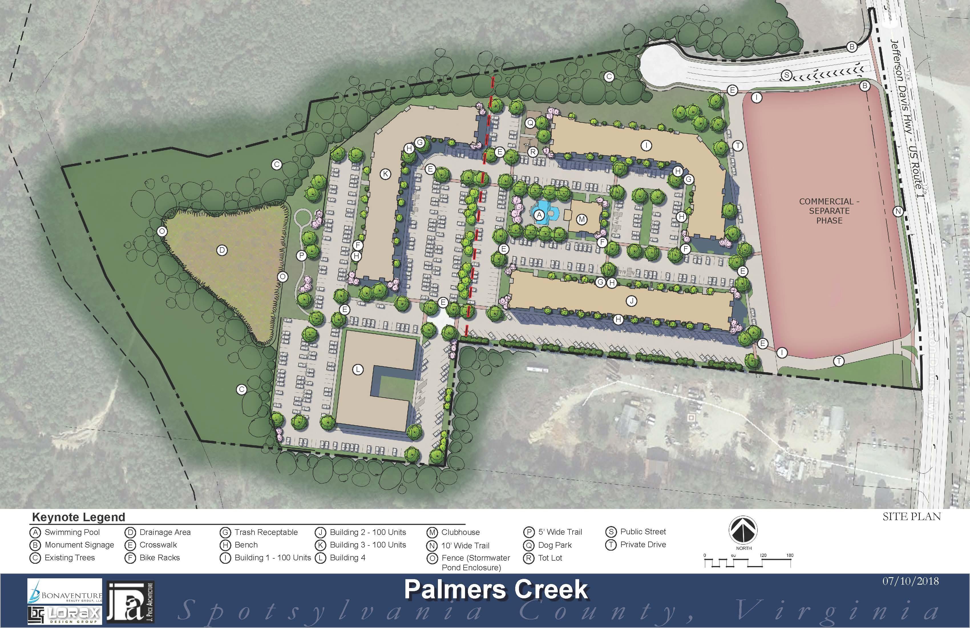 Palmers Creek Site Plan