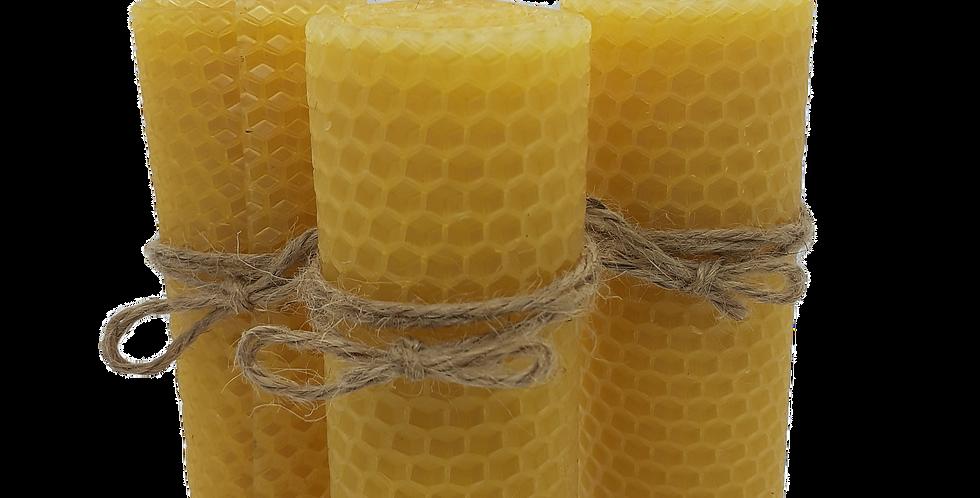 Bienenwachskerze- Altarkerze - Ritualkerze