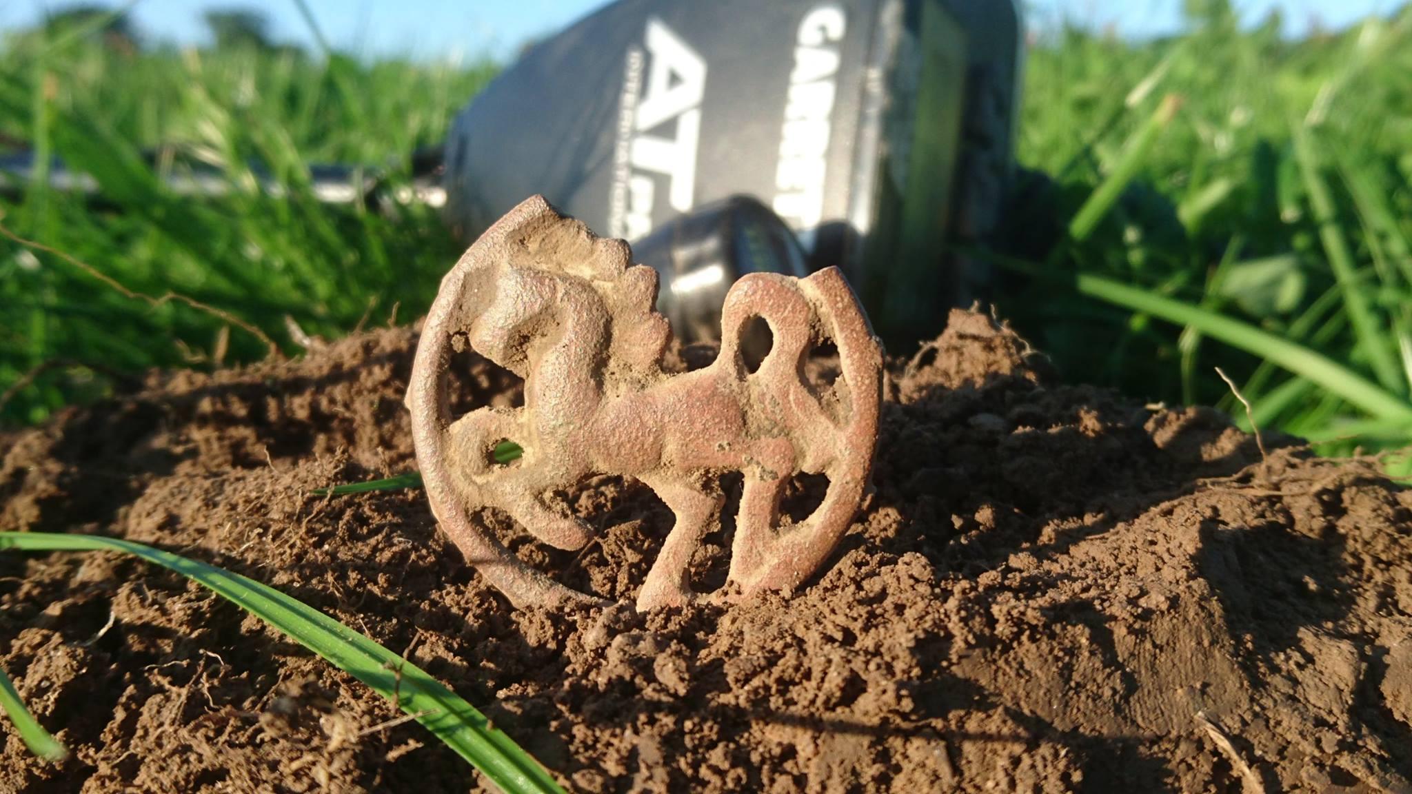 Rampant Horse Brass