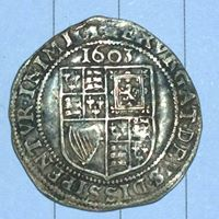 James 1st Sixpence