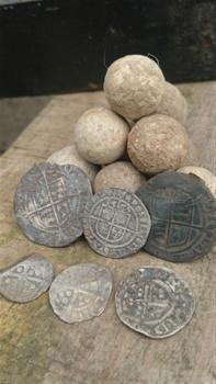 Hammered Coinage and Musket Balls