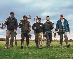 Good hunting - Great people!_#hunters #metaldetecting #saving #history #team #usa #uk #friends __reg