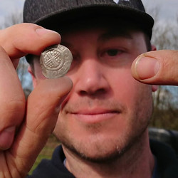 Silver short cross Hammered coin for Dr Tones aka _brandonrayneice 1199-1216AD in the hole!!!_#tones