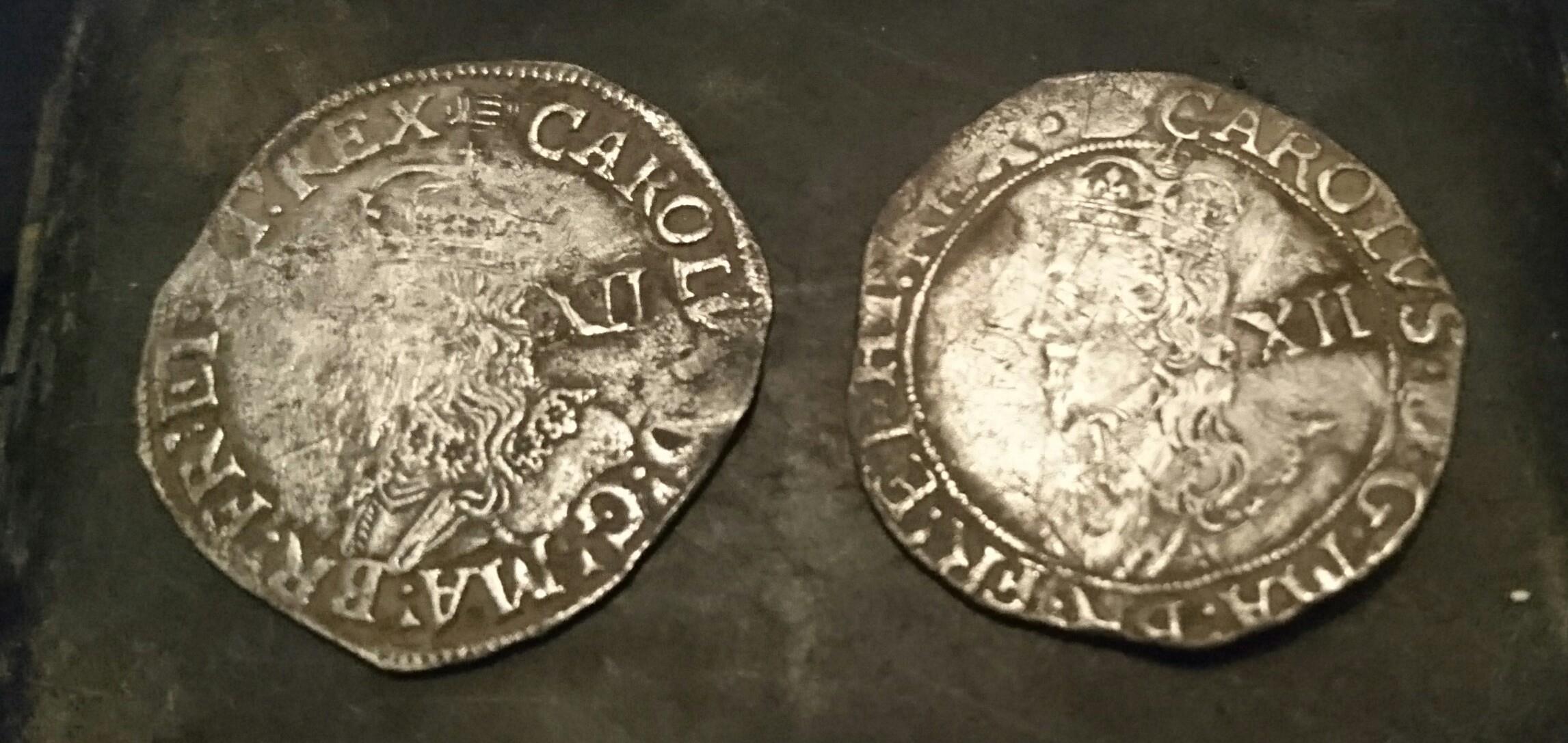 Charles 1st Shillings