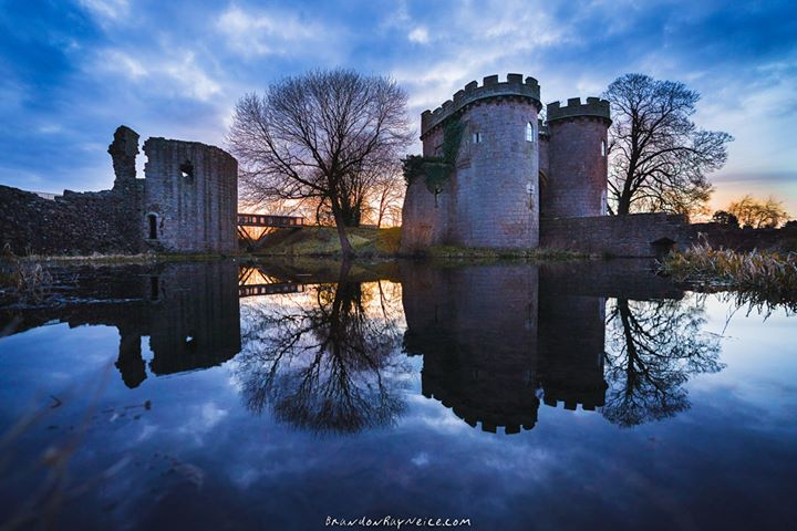 Amazing photo of Whittington Castle by my good friend Brandon Ray Neice