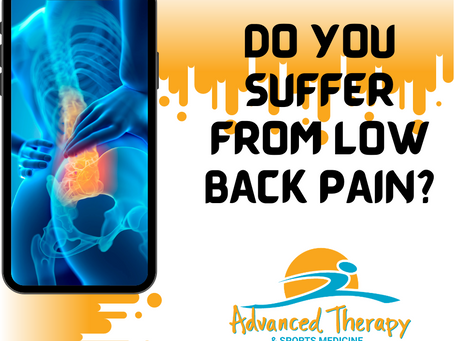 Do You Suffer From Low Back Pain