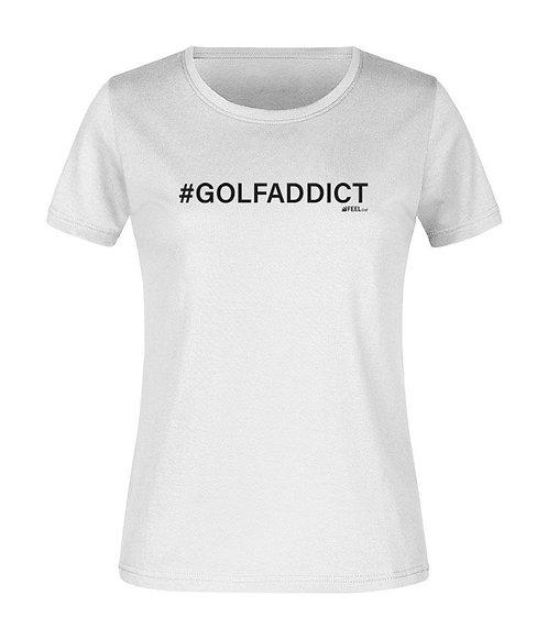 TEESHOTS Femme #GOLFADDICT