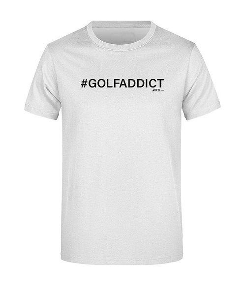 TEESHOTS Homme #GOLFADDICT