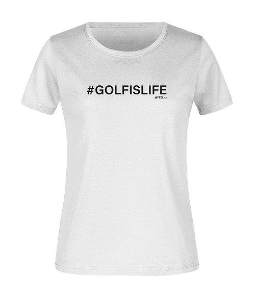 TEESHOTS Femme #GOLFISLIFE