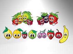 Fruit Characters