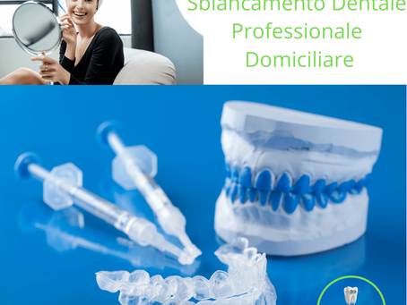 Lo sbiancamento dentale professionale
