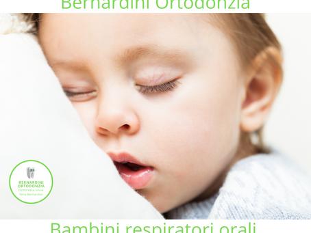 La respirazione orale e OSAS nel bambino