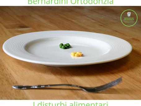 I disturbi alimentari: anoressia e bulimia