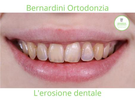 L'erosione dentale