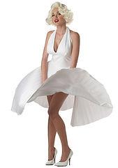 marilyn-monroe-deluxe-white-halter-dress