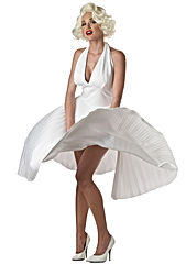 marilyn-monroe-deluxe-white-halter-dress
